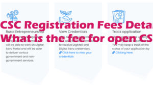 CSC Registration Fees Details What is the fee for open CSC